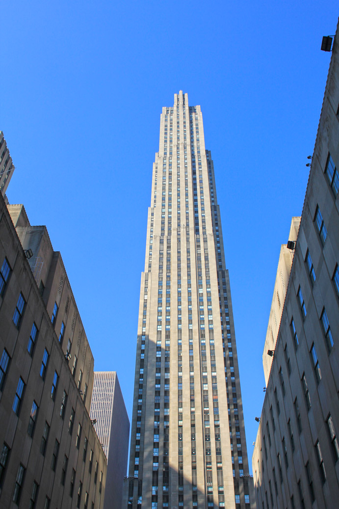 Empire State Building Ou Top Of The Rock
